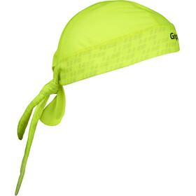 GripGrab Bandana yellow hi-vis